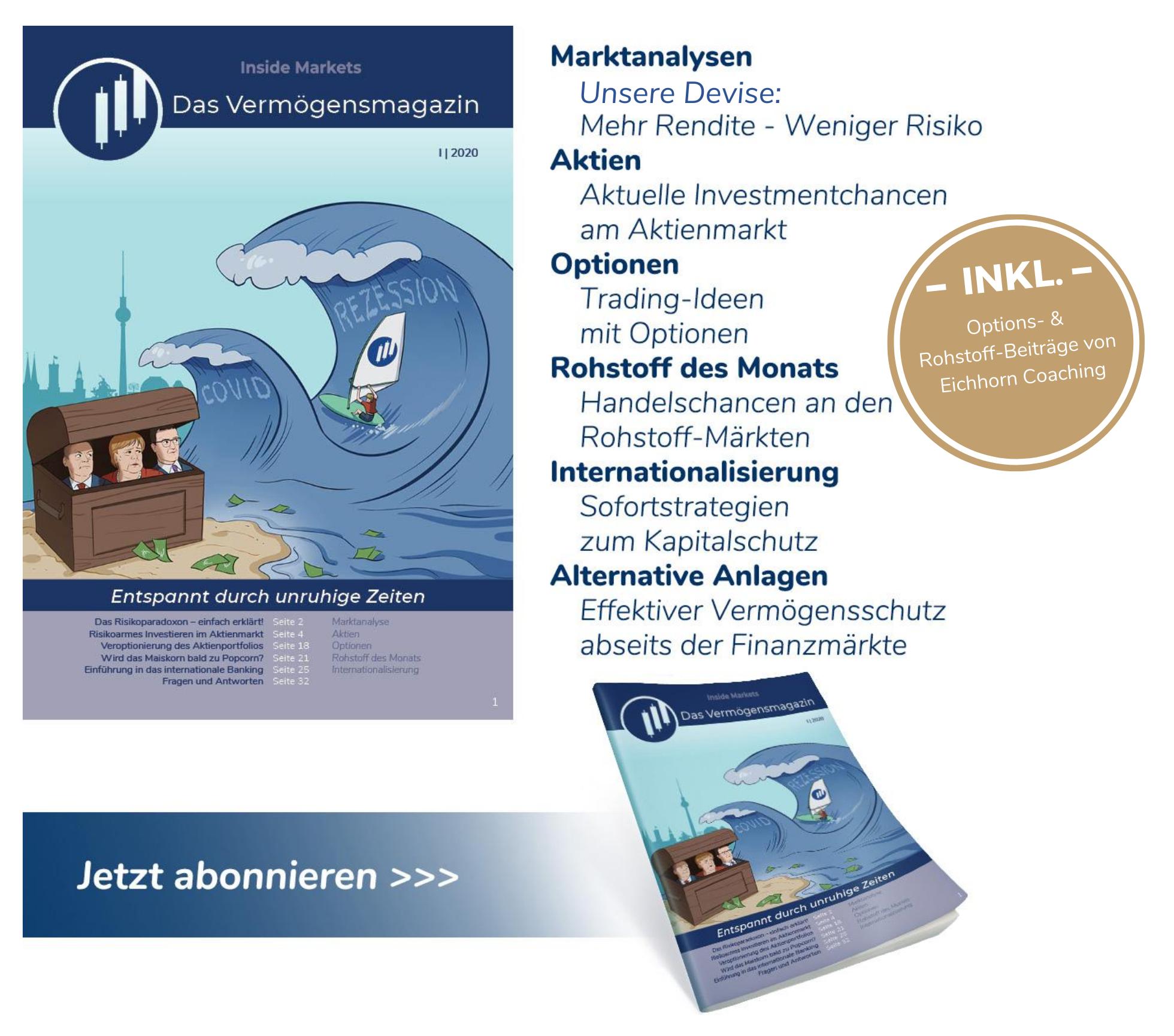 Inside Markets Das Vermögensmagazin