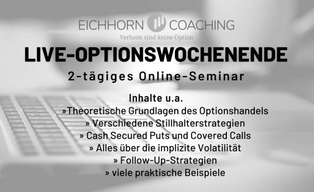 Live Optionswochenende 2021 Eichhorn Coaching