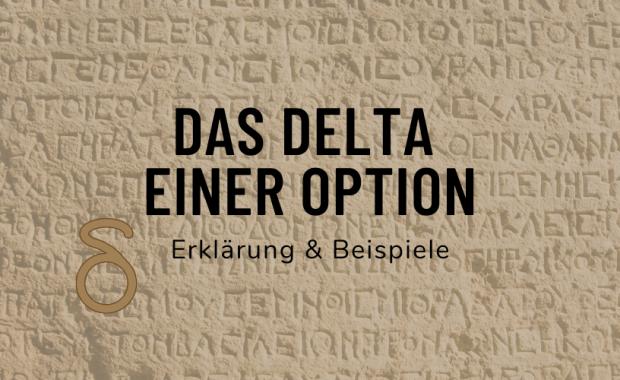 Das Delta einer Option