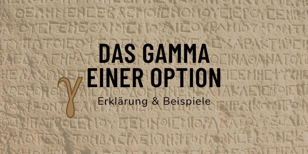 Options Grieche Gamma